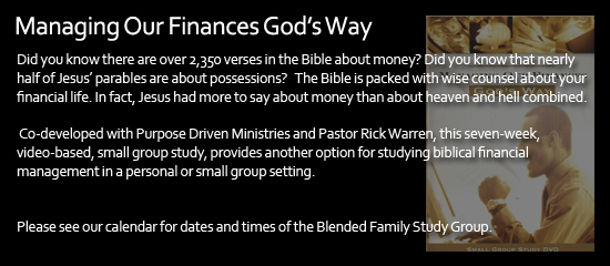 Managing Our Finances God's Way